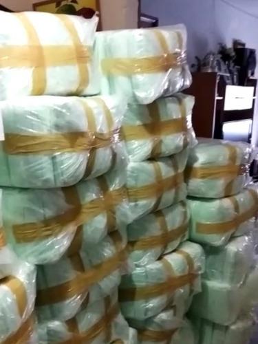 cubrebocas termosellado, triple plisado, 50 000 pzas