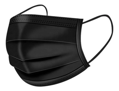 cubrebocas tricapa termosellado mascarilla plisado 50 piezas