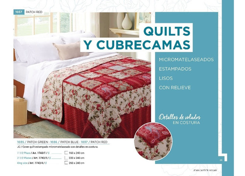 cubrecama cover king size