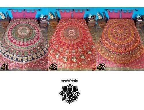 cubrecama manta hindú 2 plazas en mundo hindú
