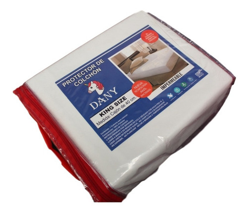 cubrecolchon protector impermeable king size dany