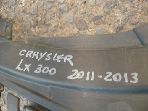 cubrefrontal chrysler lx300  2012 detalles - lea descripción