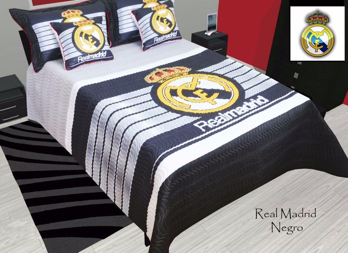 Cubrelechos Edredon Colchas Semi Doble Real Madrid   $ 215.000 en