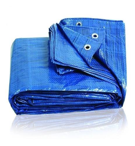 cubrepileta 400x600 cobertor rafia plus  20 ojales