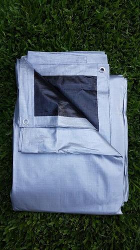 cubrepileta 500x700 cobertor rafia plus  24 ojales