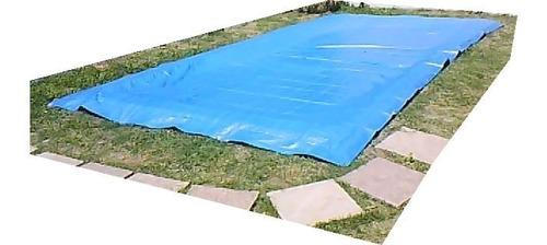 cubrepileta cobertor de rafia de 240 x 340 irrompible