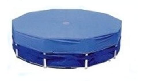 cubrepileta cobertor redondo de rafia diametro 540 cm.