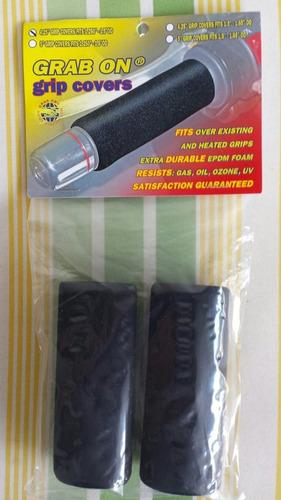 cubrepuños universales para moto  grab on grip covers