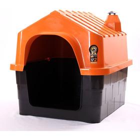 Cucha Casa Plástico Para Perro Varios Colores Nº2 60 X 47cm
