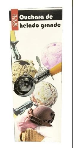 cuchara de helado grande