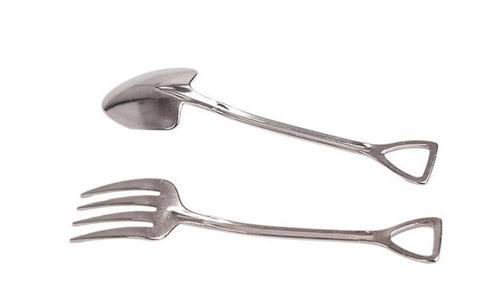 cuchara de pala de acero inoxidable y herrami + envio gratis
