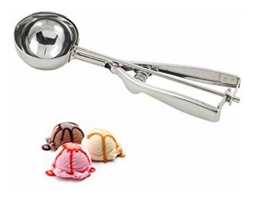 cuchara para helados y barquillas