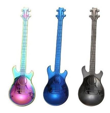 cucharas acero quirúrgico  inoxidable guitarra
