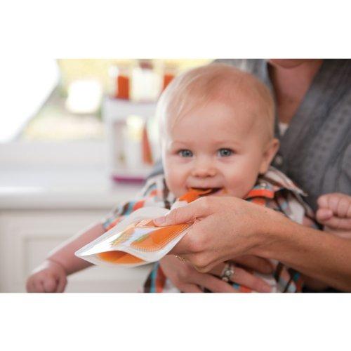 cucharas infantino incluye 2 cucharas 1 caso y clip de viaje
