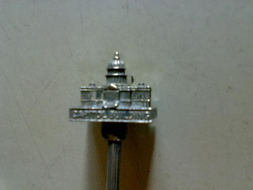 cucharita de plata capitolio building silver plated washingt