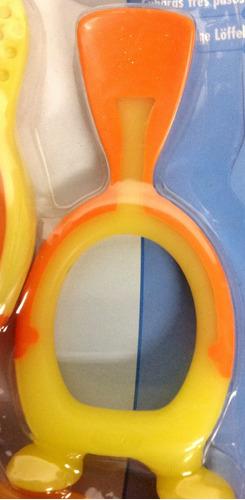 cucharitas locas para el bebe safety ref.29119 blister x 3