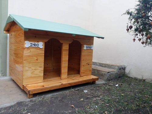 cuchas de madera para mascotas. consulte!!