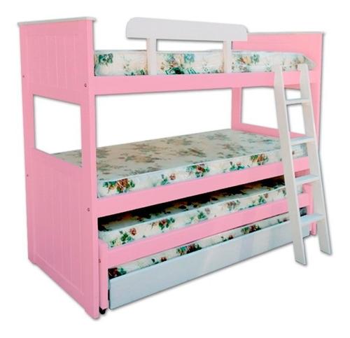 cucheta cuádruple 4 chicos rosa celeste reforzada envío s/c*