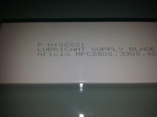 cuchilla aceitador ricoh mpc 2800/3300/4000/5000. 06021