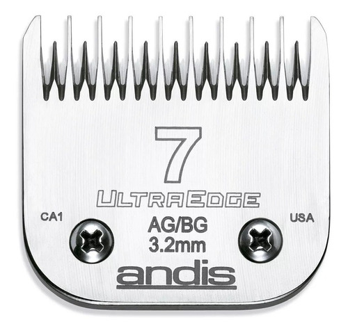 cuchilla andis 7  ultraedge compatible oster whall