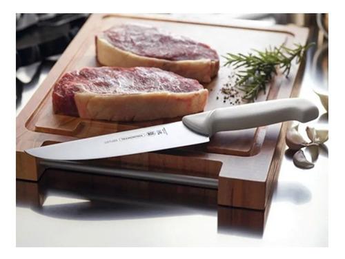 cuchilla carnicero 33cc tramontina acero cuchillo premium