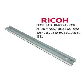Cuchilla De Limpieza Ricoh Aficio Mp2550-1022-3025-2510-1027