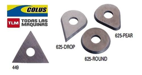 cuchilla de repuesto 449 triangulo para rasqueta bahco 625