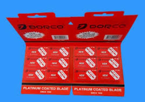 cuchilla dorco original carton x 60 cuchillas barbería