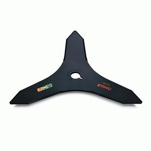 cuchilla matorrales stihl 3 puntas 250mm para desmalezadora