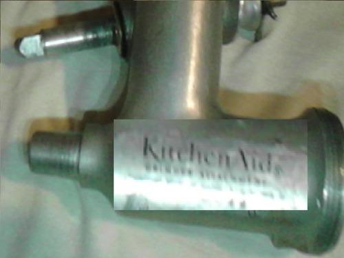 cuchilla molino carne kitchen aid