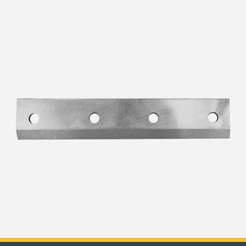 cuchilla para chipeadora con doble filo y acero hss.