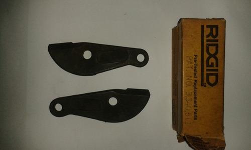 cuchilla para cizalla ridgid e-2058