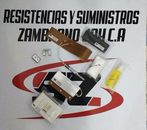 cuchilla para maquina selladora de chupis resistencias 1cm