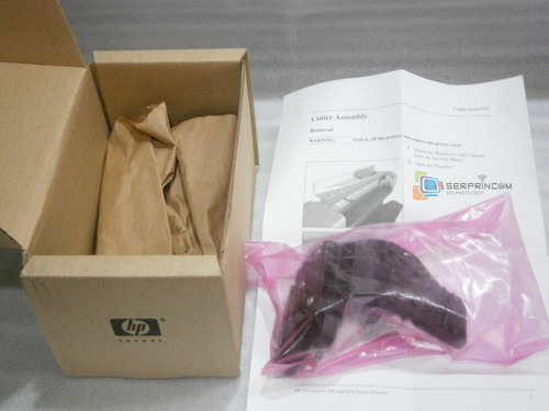 cuchilla plotter hp500 510 800 cortador papel original nueva