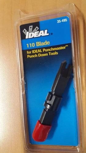 cuchilla ponchadora 110 ideal excelente calidad ,harrys !!!