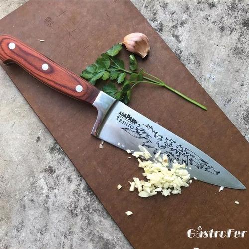 cuchilla trento asaparri cocina gourmet parrillero 17,5 cm