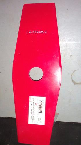 cuchillas de 25 cm para desmalezadoras
