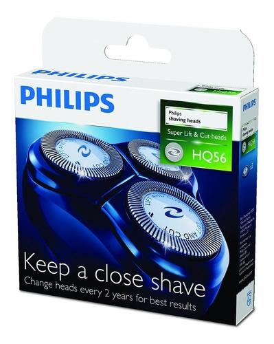 cuchillas de afeitadoras philips hq56/50