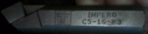 cuchillas para torno c5-16-p6 y d5-16-p6 y k3