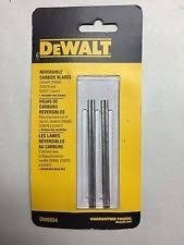 cuchillas reversibles dewalt dw6654 para cepilladora cepillo