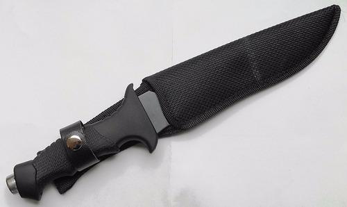 cuchillo acerinox tactico militar depredador campismo swat