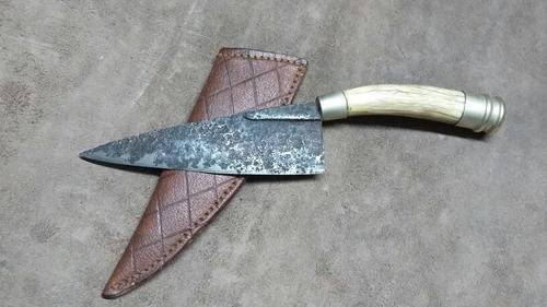 cuchillo antiguo alpaca