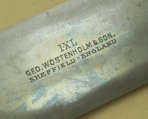 cuchillo antiguo geo wostenholm & son sheffield