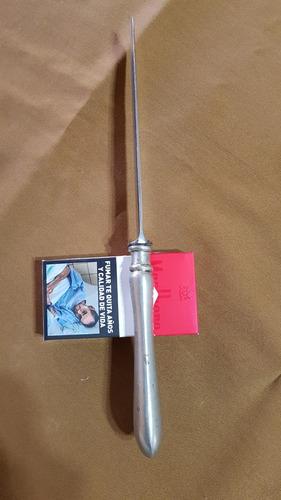 cuchillo antiguo solingen transformado en verijero