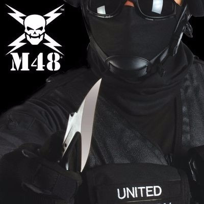 cuchillo arpon tactico m48