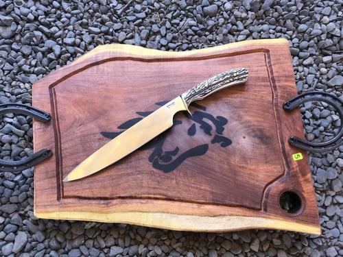 cuchillo artesanal parrillero c1301 c/despacho todo chile
