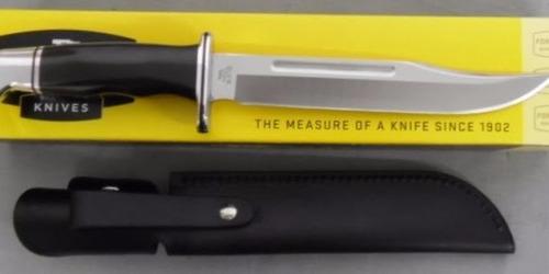 cuchillo buck 120 general bowie hoja 18,5cm acero 420hc.