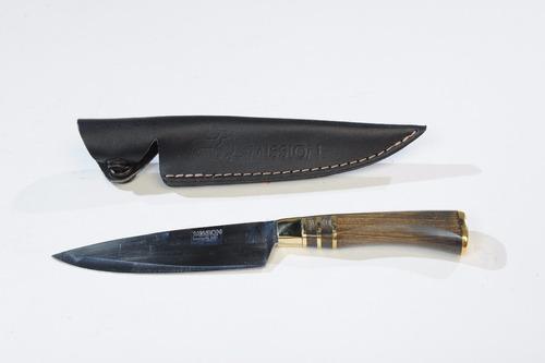 cuchillo campero mission acero inox vaina cuero fabricantes