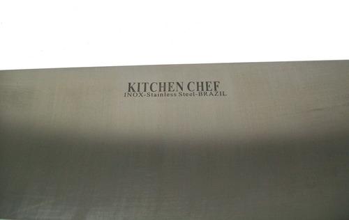 cuchillo carnicero kitchen chef 12 pulgadas brazil acero