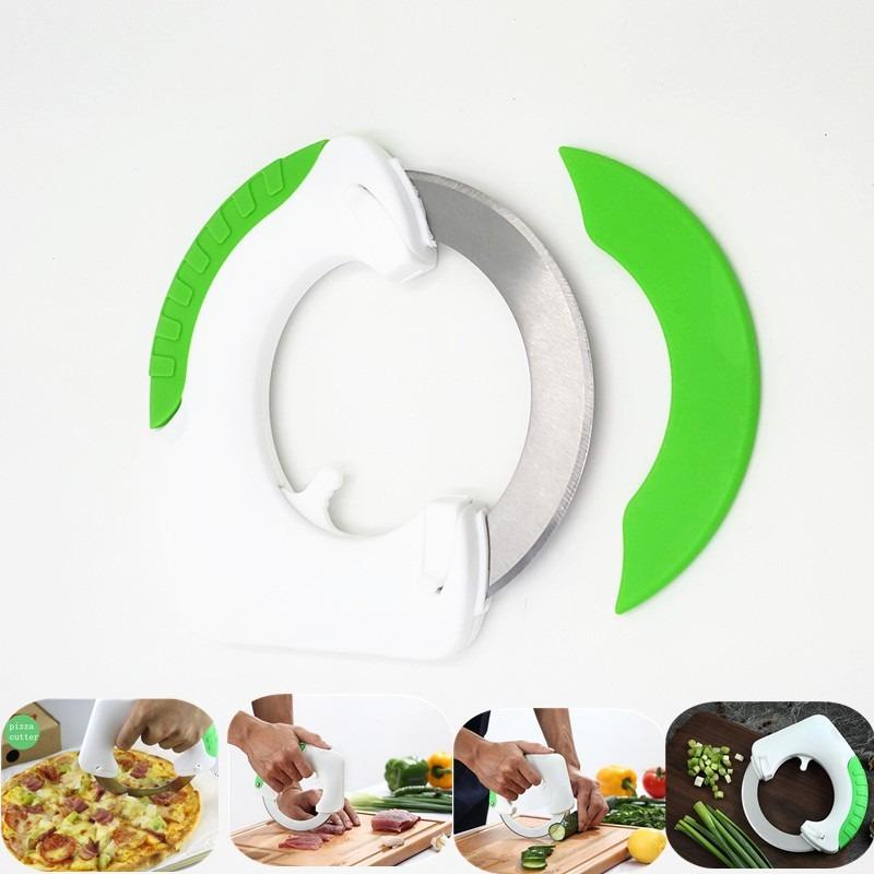 Cuchillo circular para verduras fruta carne pan etc for Cuchillo fruta